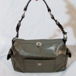 COACH CHELSEA 8A46 PEBBLED LEATHER Satchel Purse